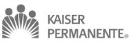 Nos clients kaiser permanent logo