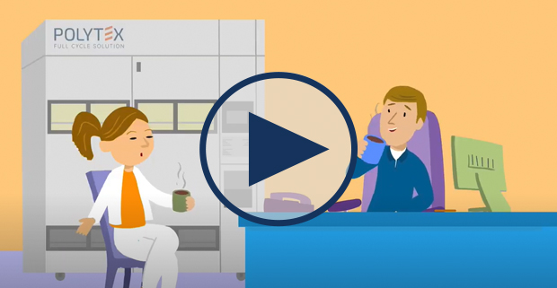 Video: Solutions de gestion automatisée des vêtements professionnels - Polytex